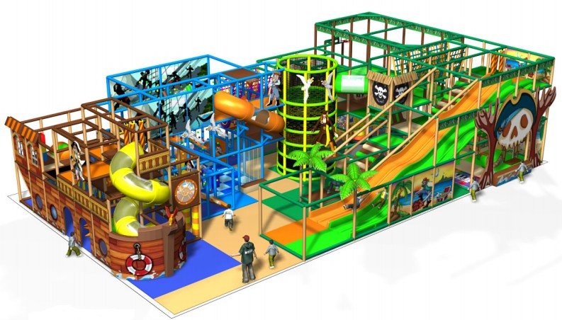 Jeux pour parcs attraction et loisirs Alger Algérie
