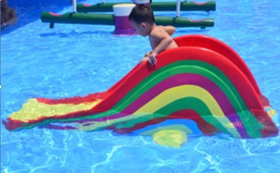 Equipement aqua parc pour enfants