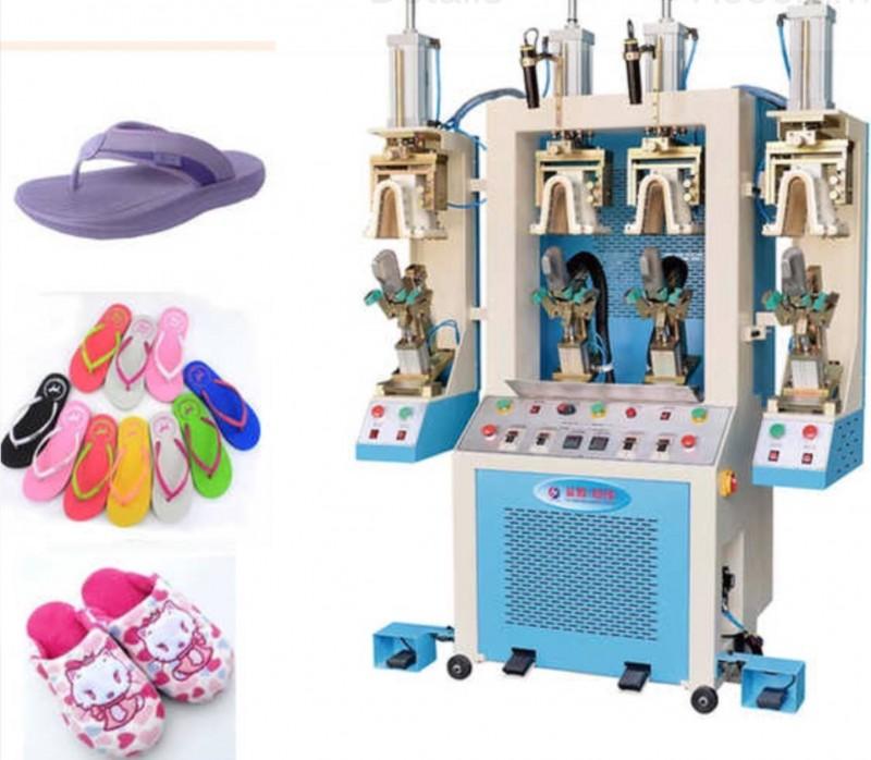 Machine de production de claquettes, chaussures de sport, bottes, semelles, talons et tout types de chaussures pour femmes hommes et enfants