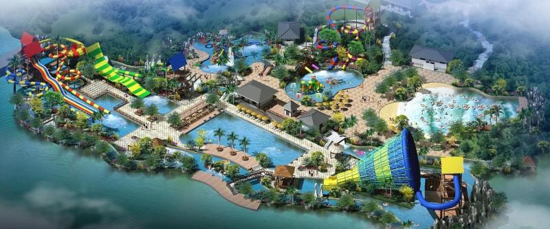 Design et équipement aquaparc et parc attraction