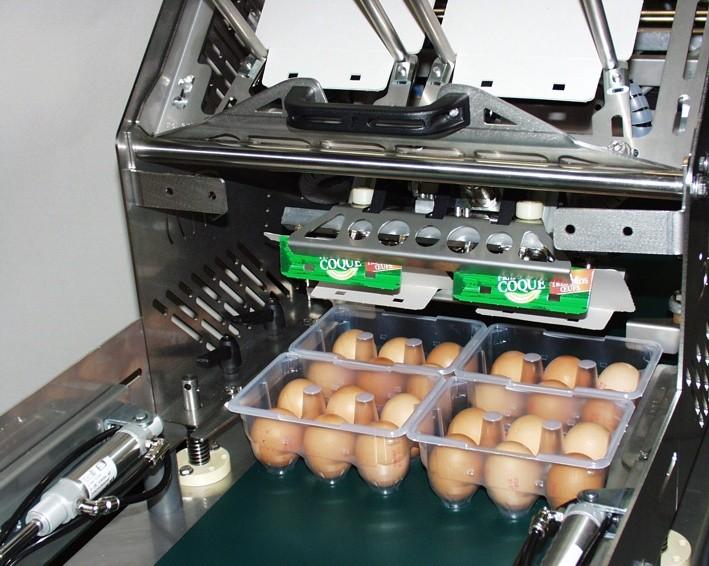 Machine emballage des oeufs