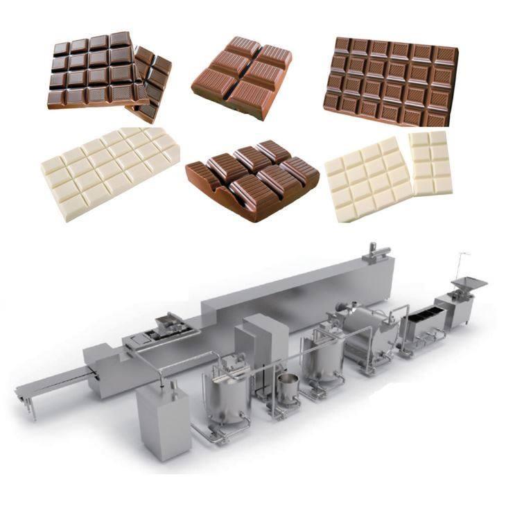 Lignes de production de Chocolat et Donuts