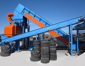 Machine Recyclage Pneumatique