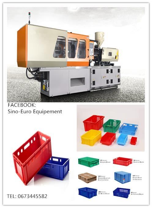 Machine d'injection plastique pour l'emballage légumes, sardines,et fruits.